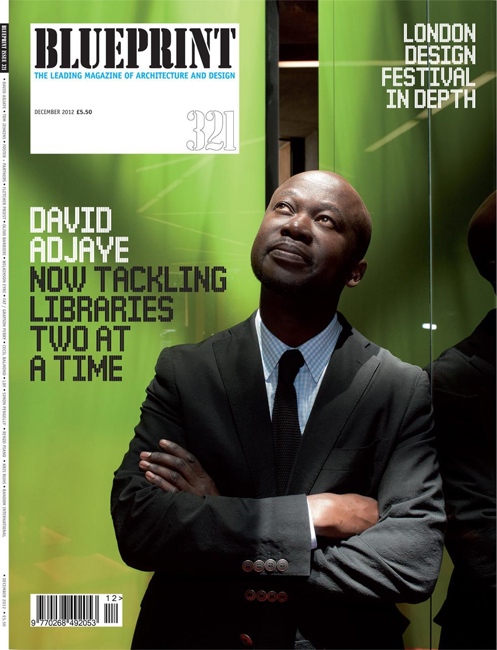 Portrait of Architect David Adjaye for Blueprint Magazine