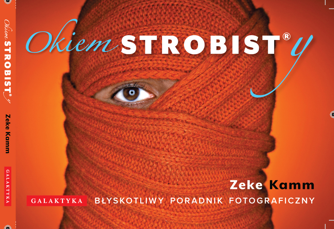 Cover image of the Polish version of Strobist, a studio lighting how-to published around the world