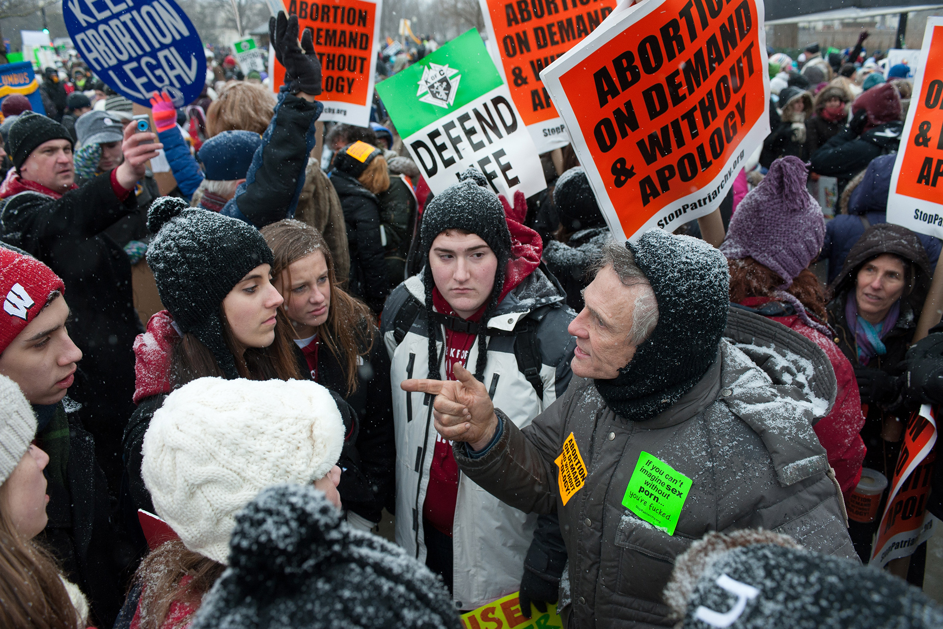March for Life anti-abortion rally at the U.S. Supreme Court, 2013
