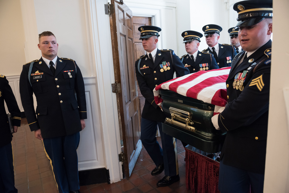 Funeral of Army Colonel Ezra Cummings Jr 2266