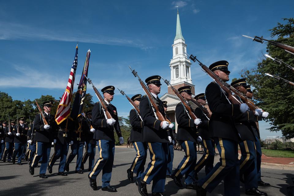 Funeral of Army Colonel Ezra Cummings Jr 2333