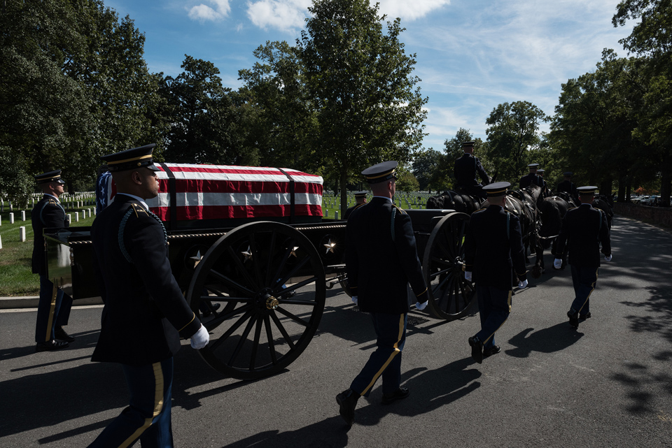 Funeral of Army Colonel Ezra Cummings Jr 2344