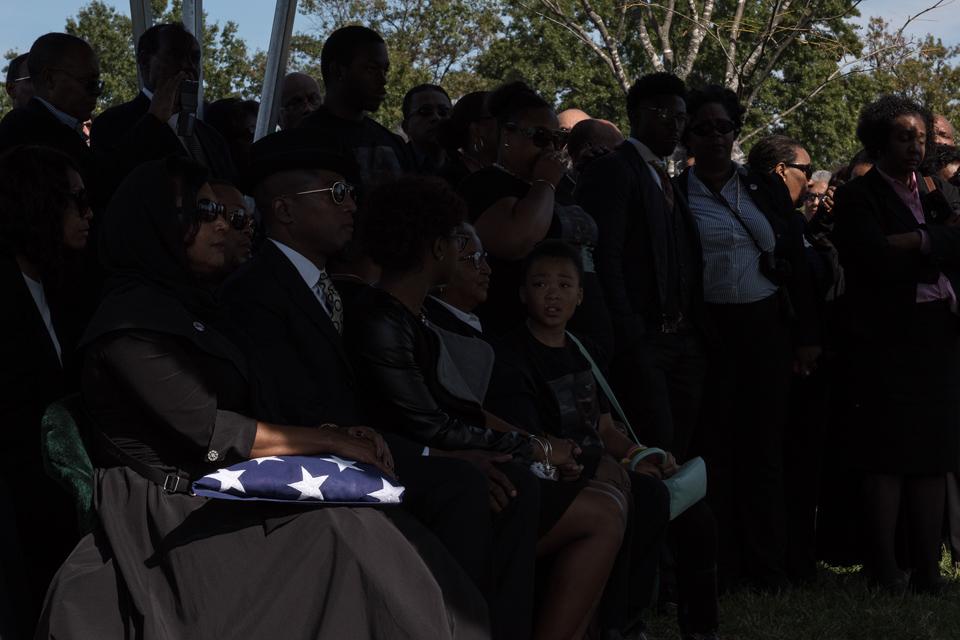 Funeral of Army Colonel Ezra Cummings Jr 2367