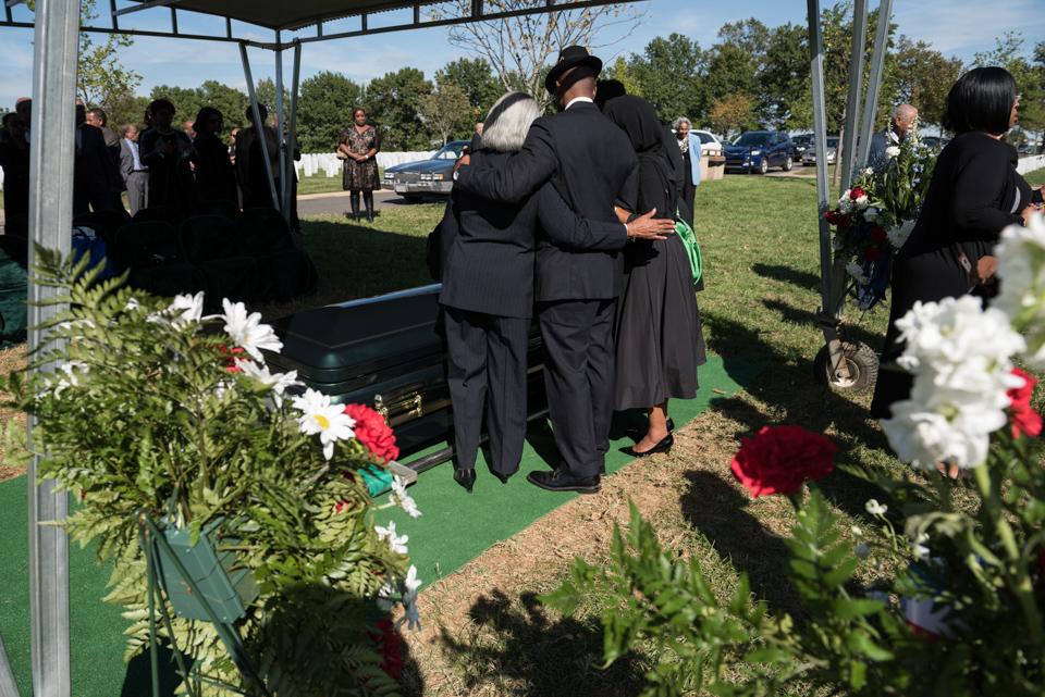 Funeral of Army Colonel Ezra Cummings Jr 2411